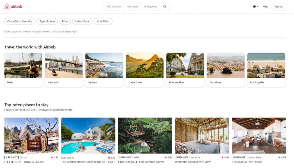 Airbnb Marketplace