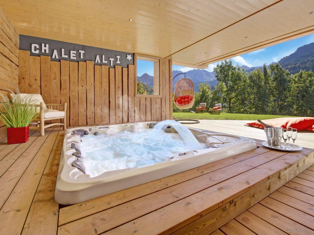 Ski Chalet with spa