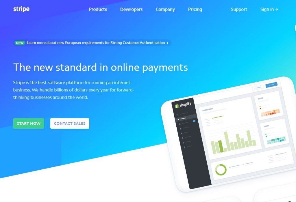 Stripe payments vacation rentals