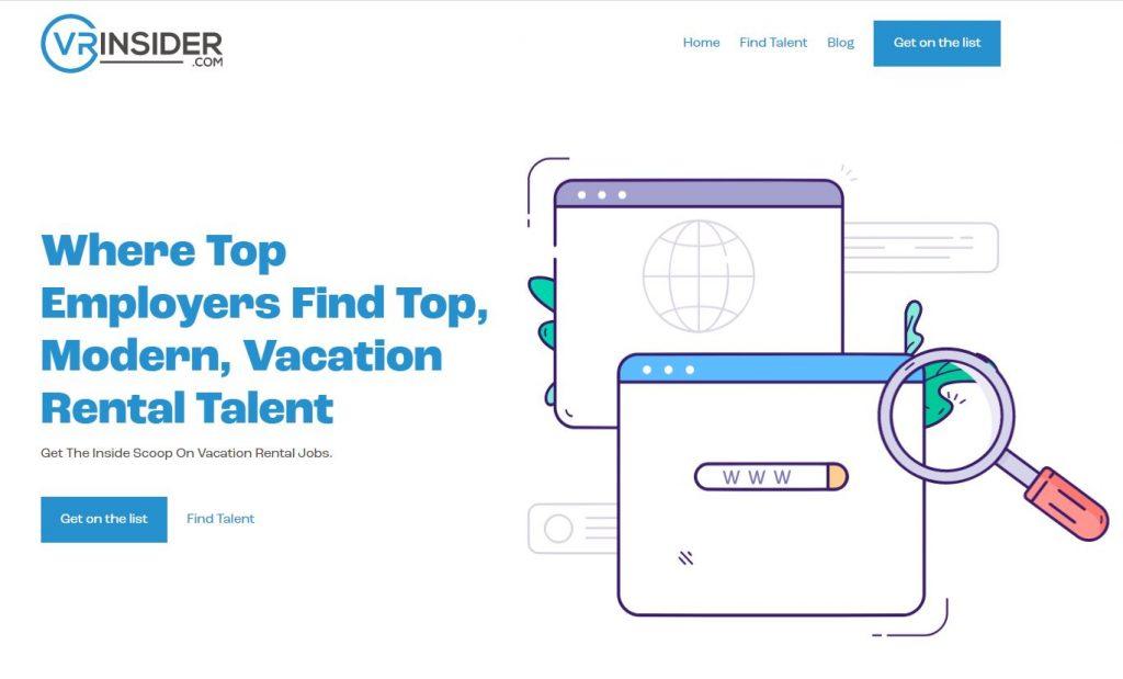 vrinsider vacation rental jobs