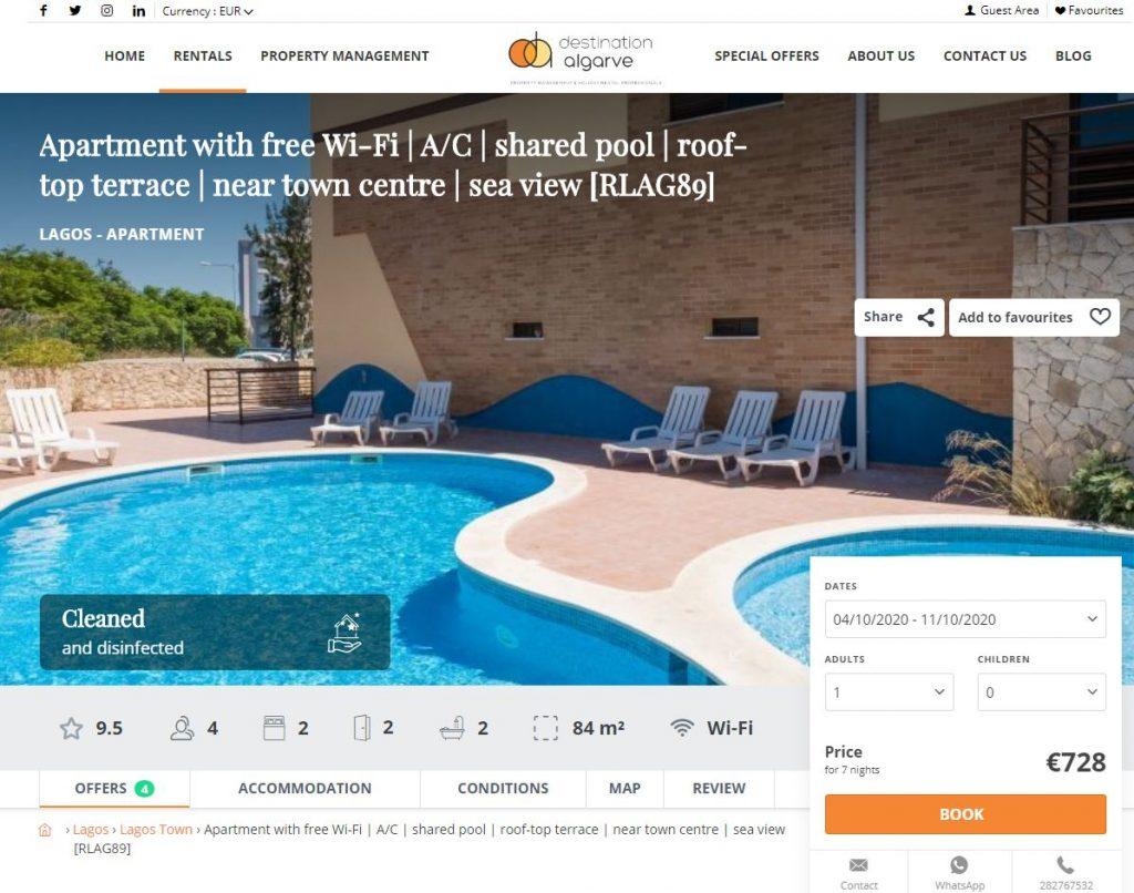 Algarve Holiday Rentals