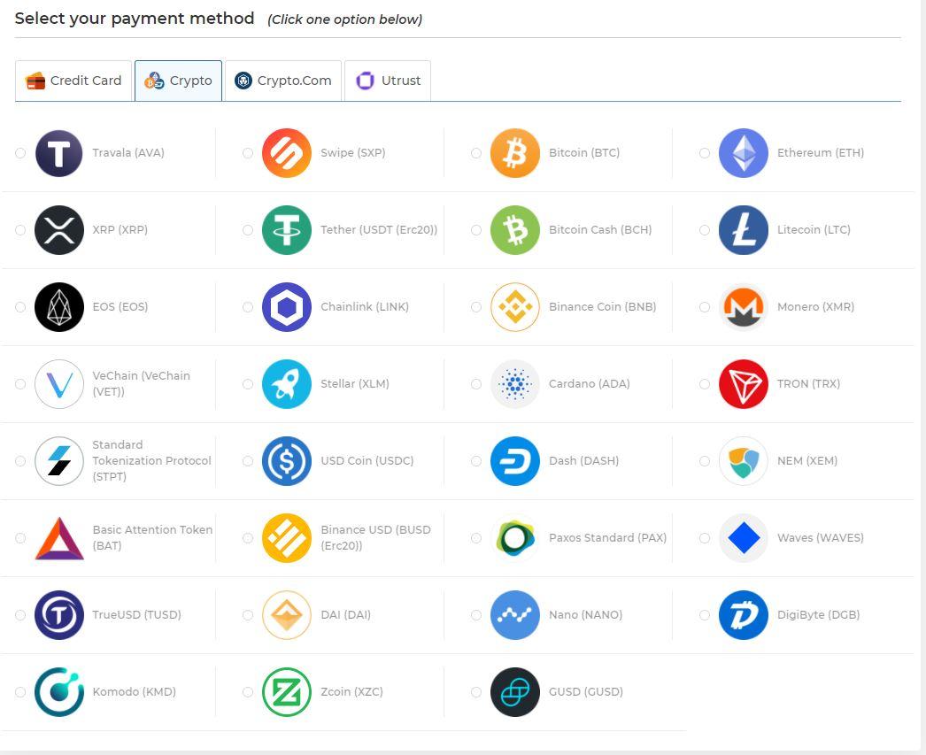 Crypto-checkout